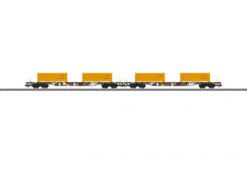 "Märklin 47131 <br/>Containertragwagen-Set ""Erdaushub Stuttgart 21"" 1"