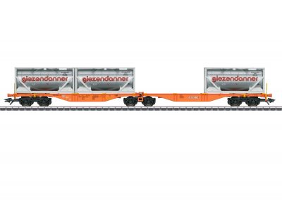Märklin 47805 <br/>Doppel-Containertragwagen Sggrss