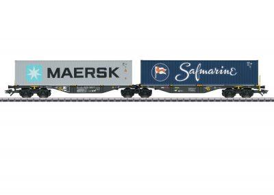 Märklin 47806 <br/>Doppel-Containertragwagen Sggrss