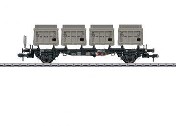 Märklin 58558 <br/>Behältertragwagen BTms 55 1