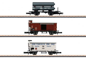 Märklin 86604 <br/>Güterwagen-Set K.P.E.V