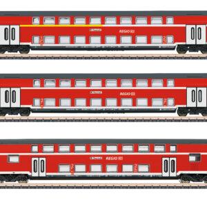 Märklin 87297 Doppelstockwagen-Set