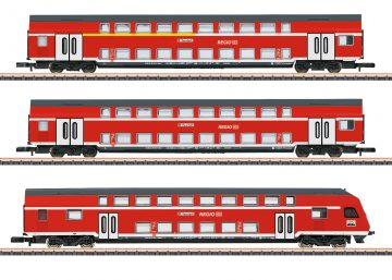 Märklin 87297 <br/>Doppelstockwagen-Set 1