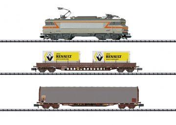 TRIX 11142 <br/>Startpackung Güterzug Frankre 1