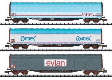 TRIX 15375 <br/>Güterwagen-Set Rils SNCF 1