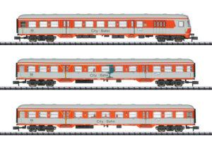TRIX 15474 <br/>Personenwagen-Set City-Bahn D