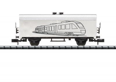 TRIX 18086 <br/>Hobby-Kühlwagen zum Ausmalen