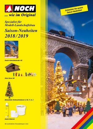 NOCH 71651 <br/>Saison-NH-Prospekt 2018/2019
