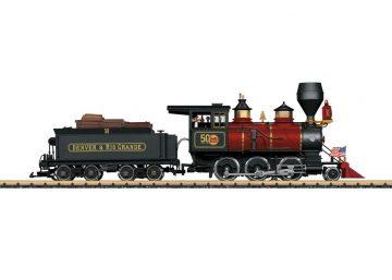 LGB 20280 <br/>Dampf-Lokomotive Mogul DRGW 1