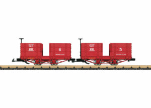 LGB 32441 <br/>Personenwagen-Set, Grizzly Fla