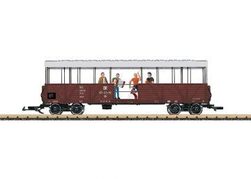LGB 33350 <br/>Offener Güterwagen mit Band 1
