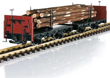 LGB 41039 <br/>Drehschemelwagen-Set DR 2
