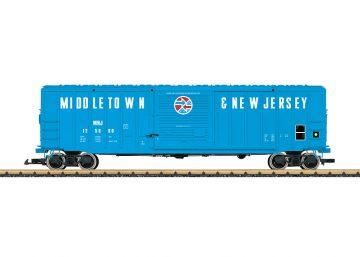 LGB 42933 <br/>Box Car Middeltown & New Jersey 1