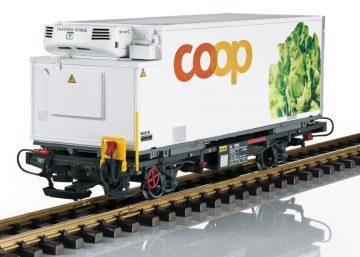 LGB 45899 <br/>Containerwagen Coop RhB 1