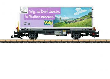 LGB 46895 <br/>Volg RhB Container car 1