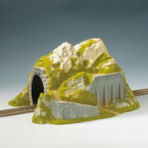 NOCH 02221 Tunnel, 1-gleisig, gerade, 34 x 25 cm