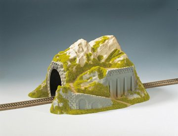 NOCH 02221 <br/>Tunnel, 1-gleisig, gerade, 34 x 25 cm 1