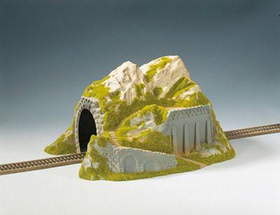NOCH 02221 <br/>Tunnel, 1-gleisig, gerade, 34 x 25 cm