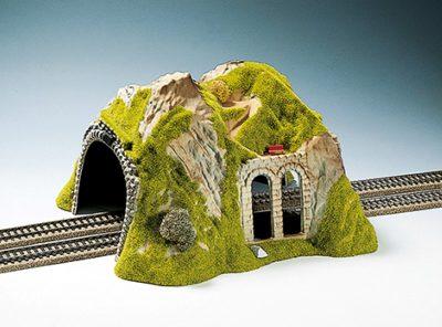 NOCH 02430 <br/>Tunnel, 2-gleisig, gerade, 30 x 28 cm