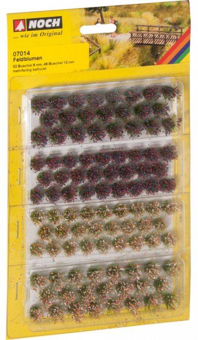 """NOCH 07014 <br/>Grasbüschel """"Wildblumen"""""""