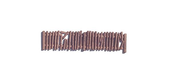 NOCH 13060 <br/>Verwahrloster Zaun
