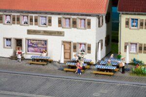 NOCH 14817 <br/>Biergarten-Zubehör
