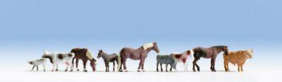 NOCH 15713 <br/>Tiere auf dem Bauernhof