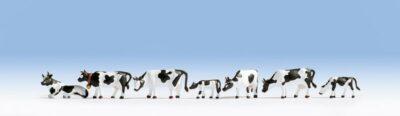 NOCH 15721 <br/>Kühe, schwarz-weiß