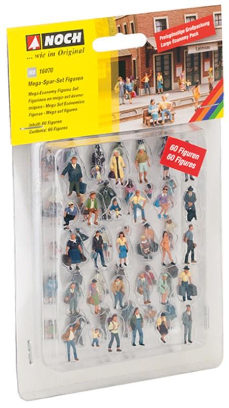 NOCH 16070 <br/>Mega-Spar-Set Figuren 2
