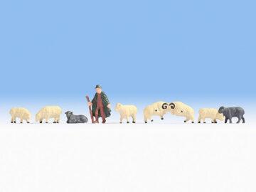 NOCH 18210 <br/>Schäfer und Schafe 1