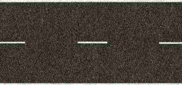 NOCH 34100 <br/>Landstraße, grau, 100 x 2,9 cm 1