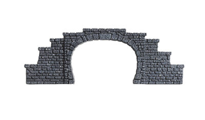 NOCH 34400 <br/>Tunnel-Portal, 1-gleisig, 5,5 x 6,5 cm
