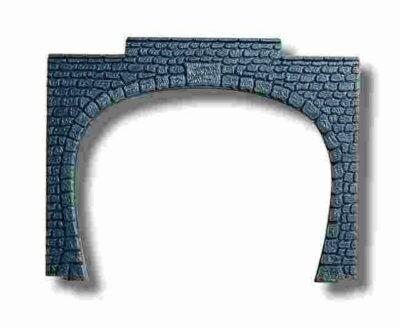 NOCH 34410 <br/>Tunnel-Portal, 2-gleisig, 9,5 x 7 cm