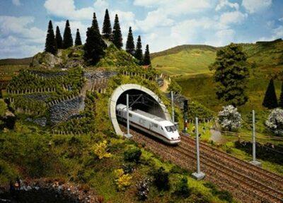 NOCH 34840 <br/>Tunnel-Portal, ICE, 12,5 x 10 cm