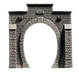 NOCH 34851 <br/>Tunnel-Portal, 1-gleisig, 7,9 x 7,6 cm