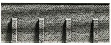 NOCH 34856 <br/>Stützmauer, 19,8 x 7,4 cm 1