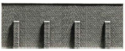 NOCH 34857 <br/>Stützmauer, extra lang, 39,6 x 7,4 cm