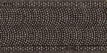 NOCH 44070 <br/>Kopfsteinpflaster, 100 x 2,5 cm 1