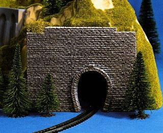 NOCH 44790 <br/>Vorsatz-Portal, 1-gleisig, 9 x 7 cm