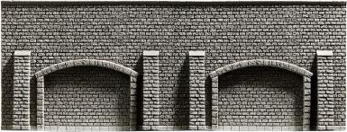 NOCH 44920 <br/>Arkadenmauer, 13 x 7 cm