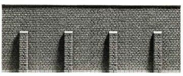 NOCH 48057 <br/>Stützmauer, extra lang, 51,6 x 9,8 cm 1