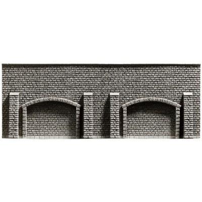 NOCH 48058 <br/>Arkadenmauer, 25,8 x 9,8 cm