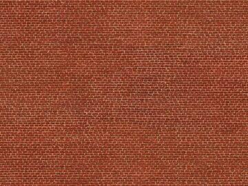 NOCH 56610 <br/>Klinker rot, 3D, H0 1
