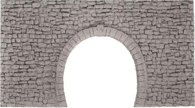 NOCH 58027 <br/>Tunnel-Portal, 2-gleisig, für Schmalspurbahnen
