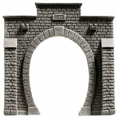 NOCH 58051 <br/>Tunnel-Portal, 1-gleisig, 13,5 x 12,5 cm