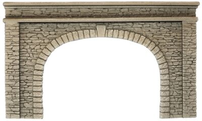 NOCH 58062 <br/>Tunnel-Portal, 2-gleisig, 22 x 13 cm