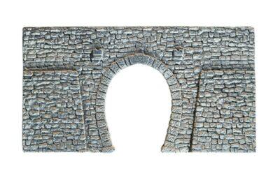 NOCH 58247 <br/>Tunnel-Portal, 1-gleisig, 23,5 x 13 cm