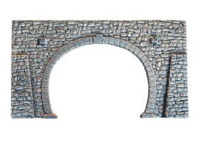 NOCH 58248 <br/>Tunnel-Portal, 2-gleisig, 23,5 x 13 cm
