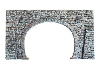 NOCH 58248 <br/>Tunnel-Portal, 2-gleisig, 23,5 x 13 cm 1