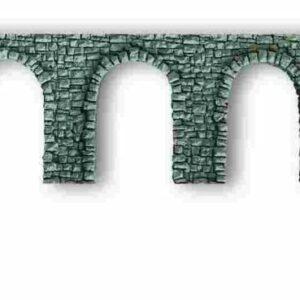 NOCH 58260 Arkadenmauer, offen, 27 x 10 cm
